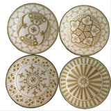 SAFI appetizer plate - set of 4 olive