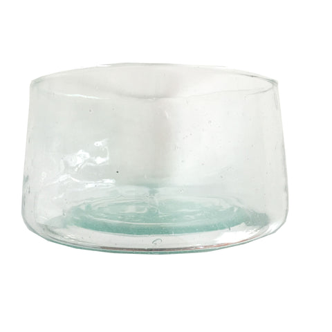 CLUB Moroccan recycled glass serving bowl