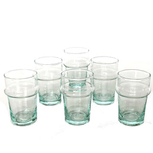 BELDI TRADITIONAL GLASS LARGE set of 6 glasses