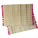LOLA placemat with tassel - set of 2