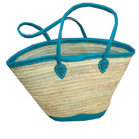 STACIE shopping basket - TURQUOISE