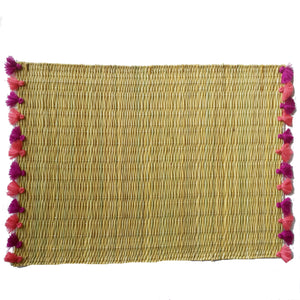 LOLA placemat with tassels BAYA