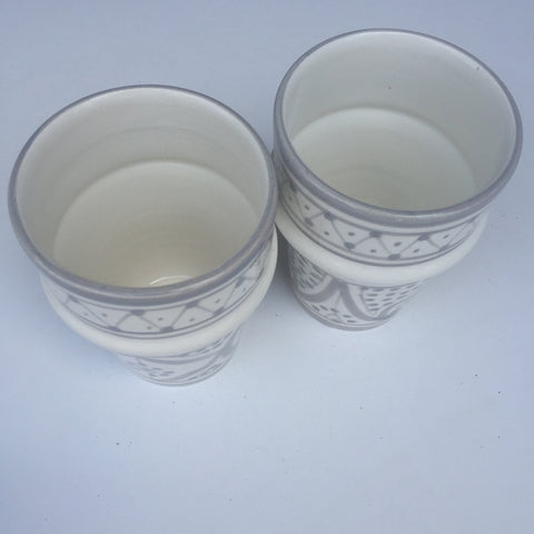 SAFI Bell & Dee cups - set of 2 gray