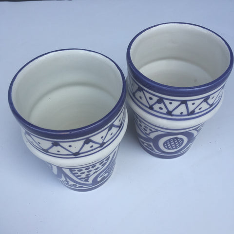 SAFI Bell & Dee cups - set of 2 royal blue