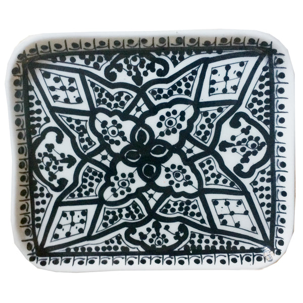 APPETIZER TRAY small BLACK