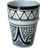 SAFI BELL & DEE cups set of 2 BLACK