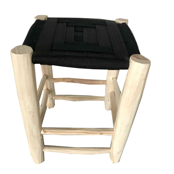PEARL stool BLACK
