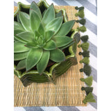 LOLA placemat with tassel - set of 2 CACTUS