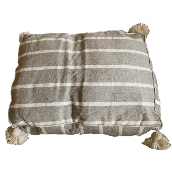MARTHA PET BED large GRAY/WHITE/GRAY