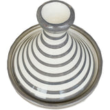 BULLSEYE small ceramic tagine dish