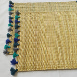 LOLA placemat with tassel - set of 2 AEGEAN SEA