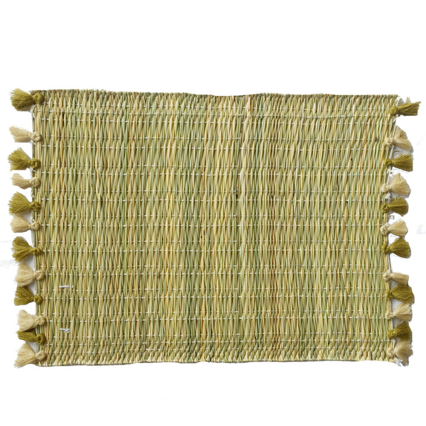 LOLA placemat with tassels JOSHUA TREE