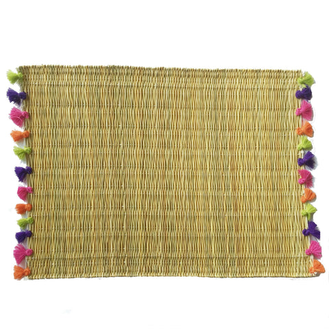 LOLA placemat with tassels PREPPY