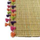 LOLA placemat with tassel - set of 2 PREPPY