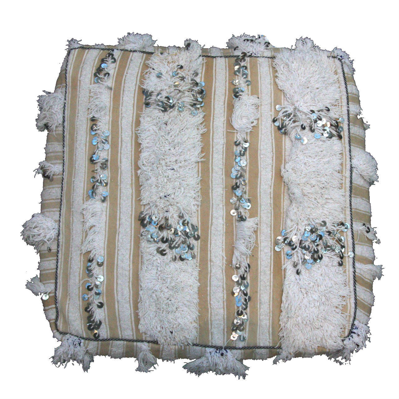MELINDA wedding blanket sitting cushion