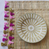 LOLA placemat with tassel - set of 2 OJAI