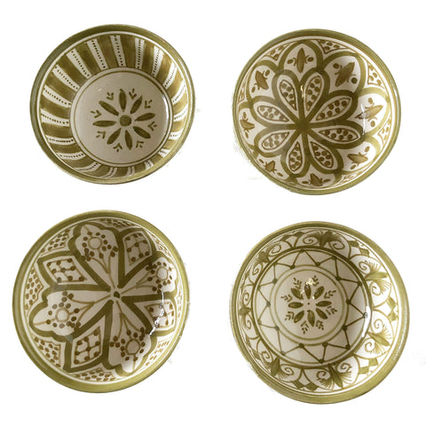 TAPAS bowl - set of 4 olive