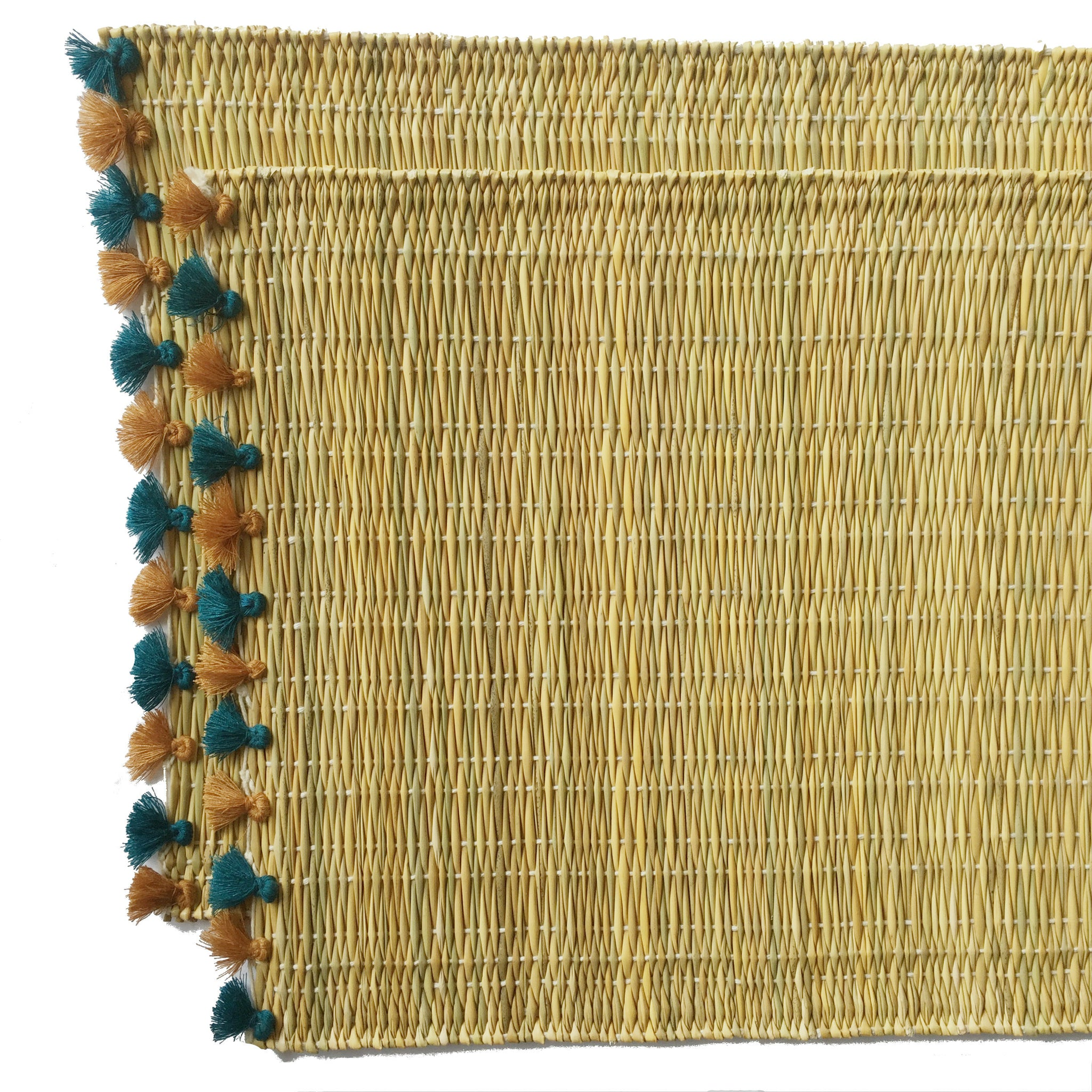 LOLA placemat with tassels PAVONE