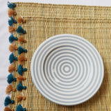 LOLA placemat with tassel - set of 2 PAVONE