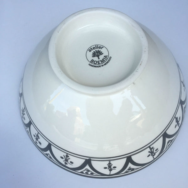 SAFI SERVING bowl BLACK