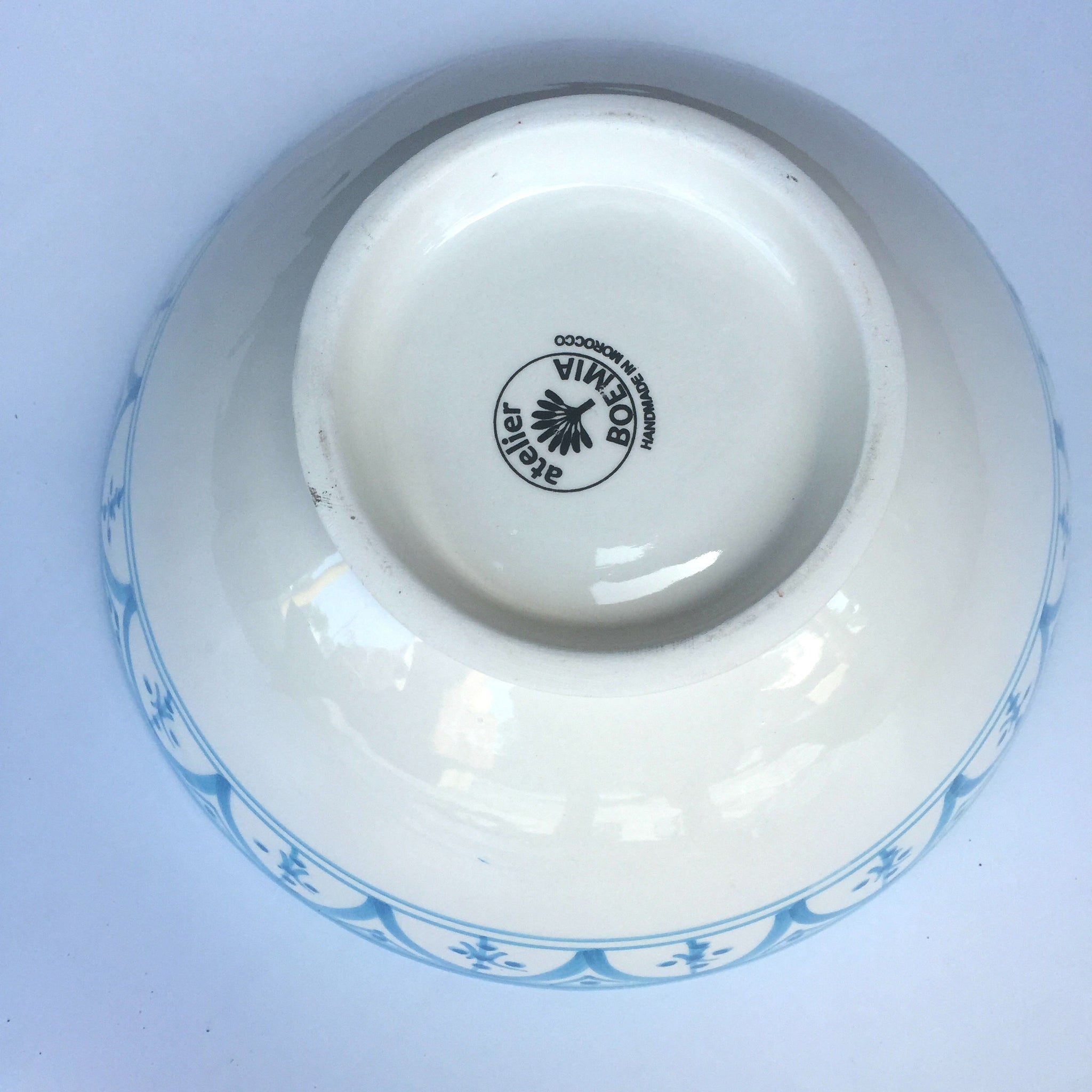 SAFI SERVING bowl TURQUOISE