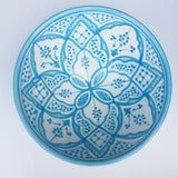 SAFI serving bowl - turquoise