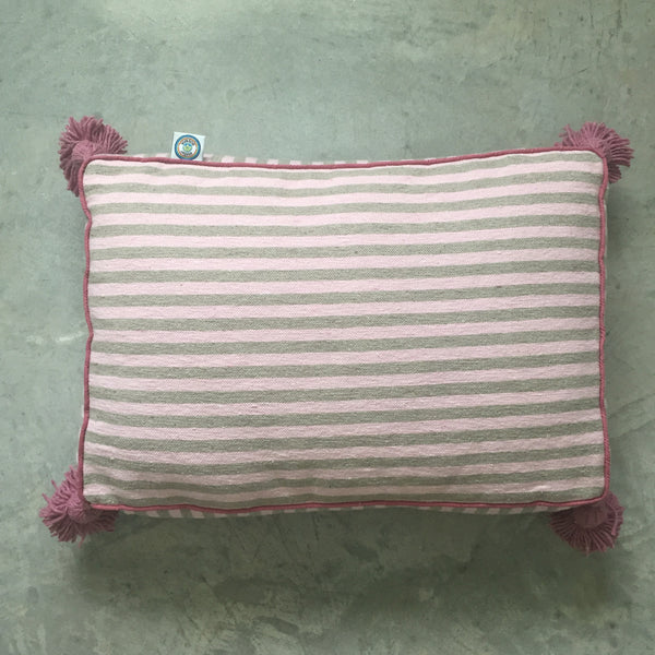 MARTHA PET BED small BLUSH/TAUPE/BERRY
