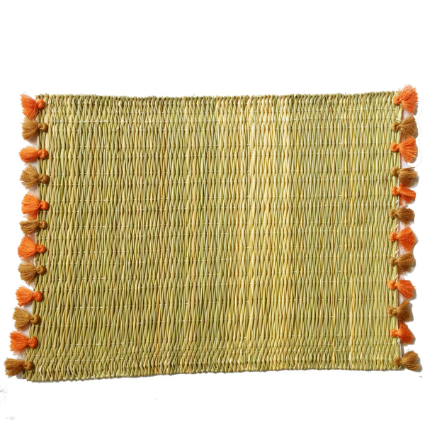 LOLA placemat with tassels ST HONORE