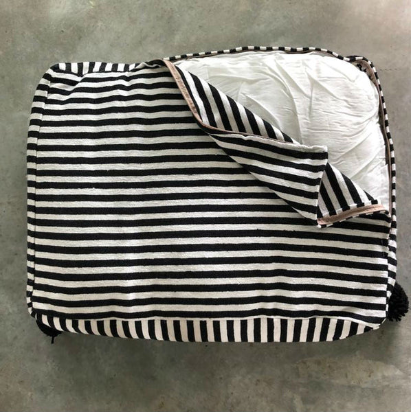 MARTHA PET BED large BLACK/WHITE/BLACK