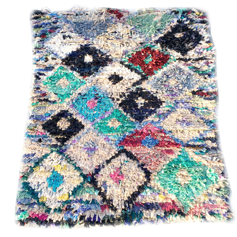Carpet Flooring Online Shopping_AVERY Boucherouite rug