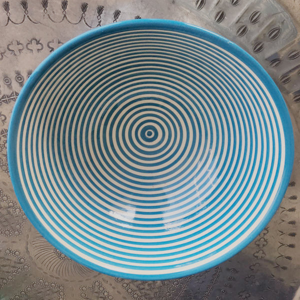 BULLSEYE serving bowl