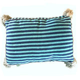 small PET BED - navy/turquoise/grey