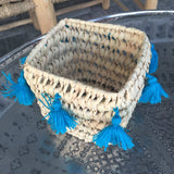 CATCH ALL tassel basket