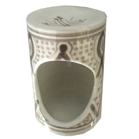 porcelain OIL diffuser - grey