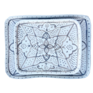 APPETIZER TRAY small GRAY