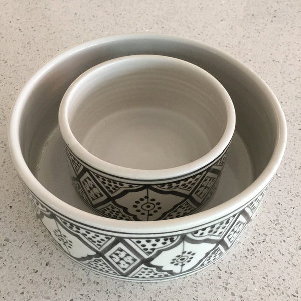 PET BOWL large BLACK