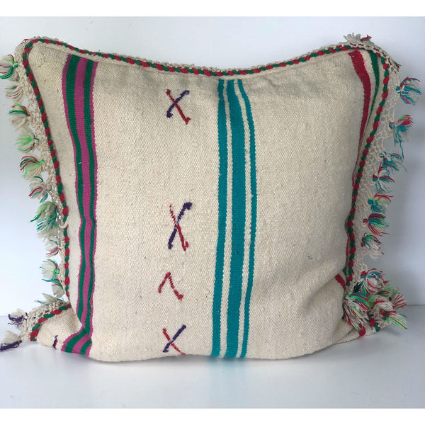 JUDY vintage blanket pillow cover