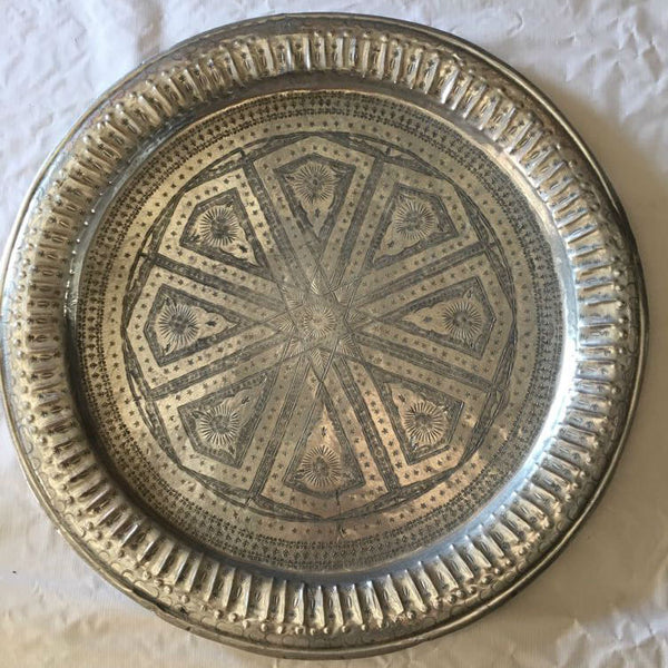 LINDA vintage Moroccan tray EXTRA LARGE