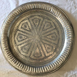 LINDA vintage Moroccan tray - MEDIUM