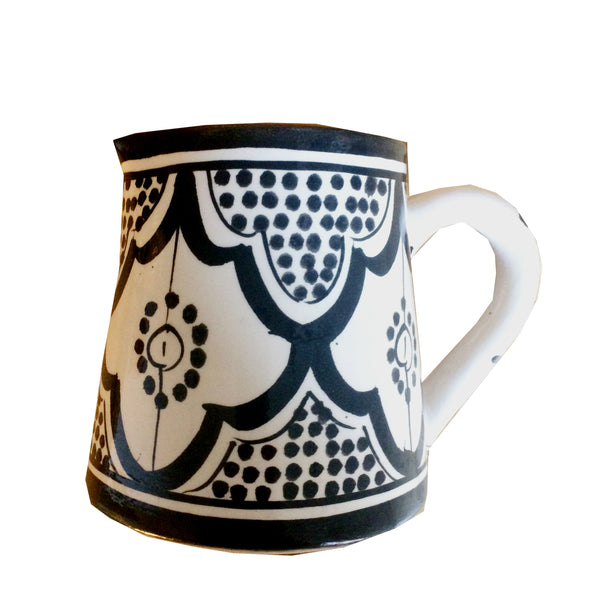 MILK pitcher BLACK