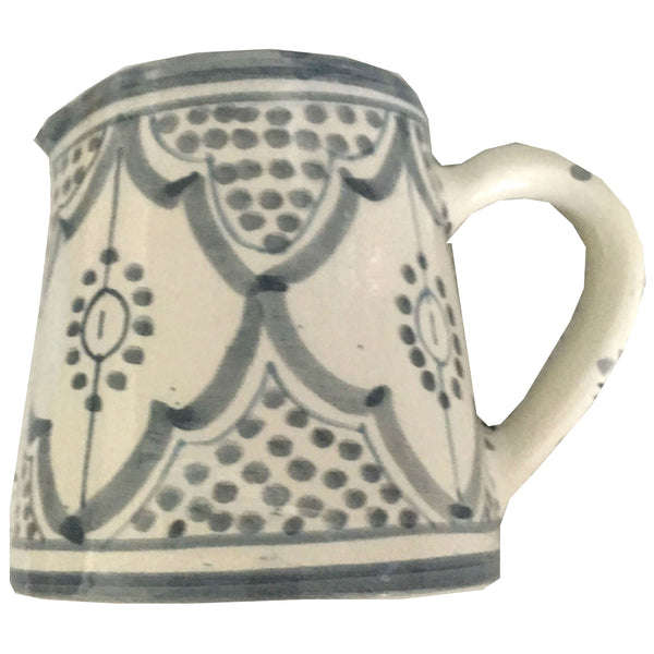 MILK pitcher GRAY