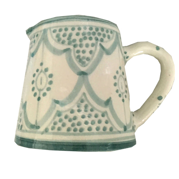 MILK pitcher CELADON
