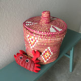 TOY large woven basket-3