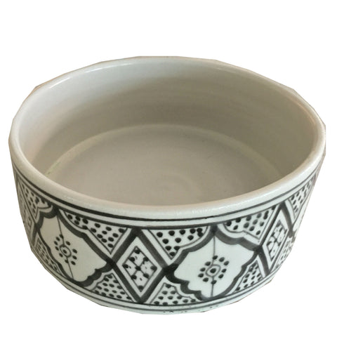 large porcelain PET BOWL