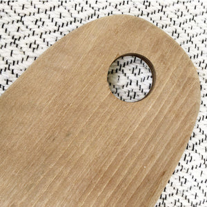 ROUNDED cutting board