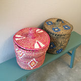 TOY large woven basket-4