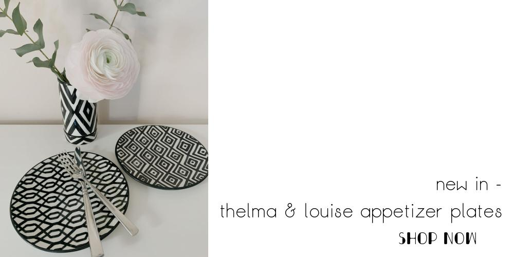atelier boemia thelma and louise appetizer plates
