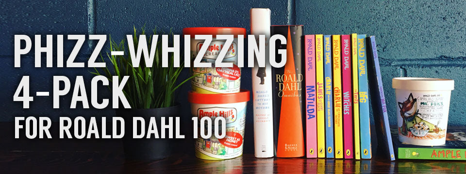 Phizz-Whizzing 4-Pack for Roald Dahl 100