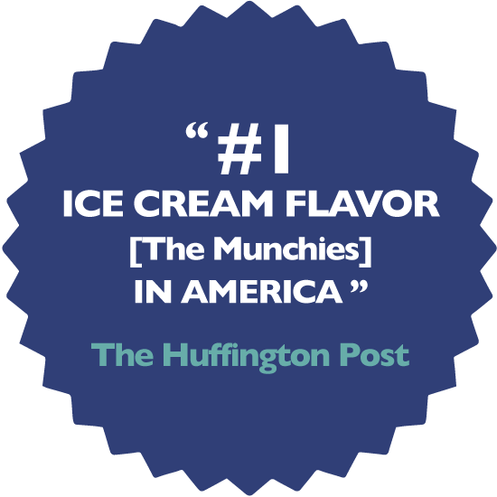 #1 Ice Cream Flavor [The Munchies] in America -Huffington Post
