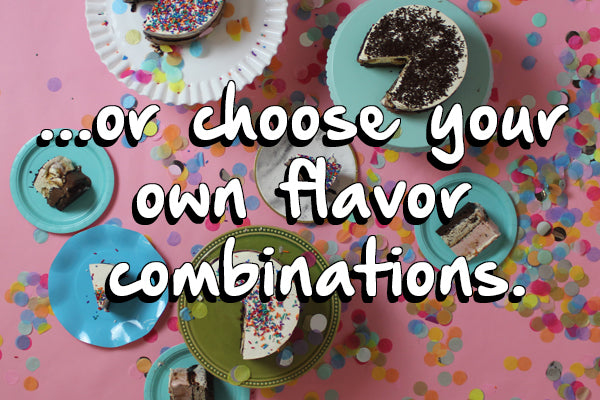 Choose any two flavors